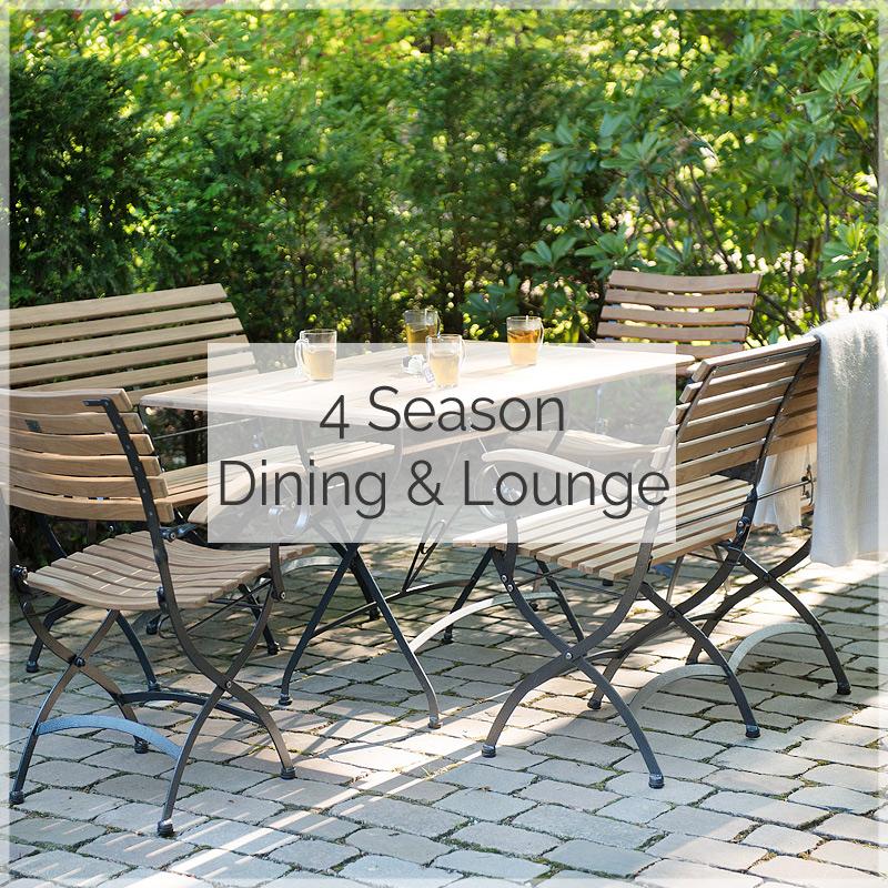 4Season Gartenmöbel und Gartentisch