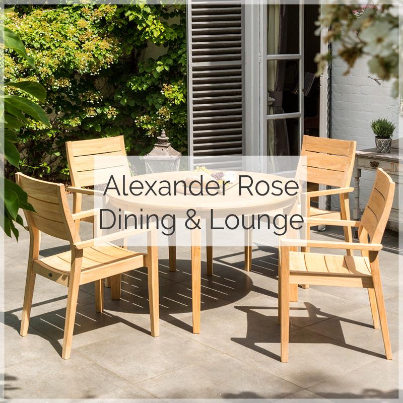Alexander Rose Gartenmöbelserie Tivoli