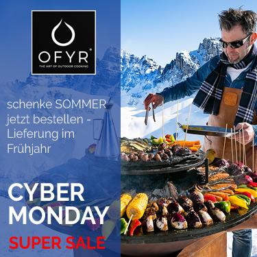 OFYR Grills in der Cyber Monday Aktion bei Gartenmöbel Thomas