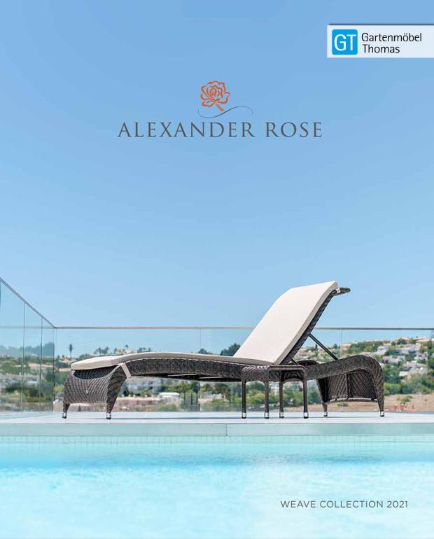 Abbildung Alexander Rose Geflechtkatalog 2021
