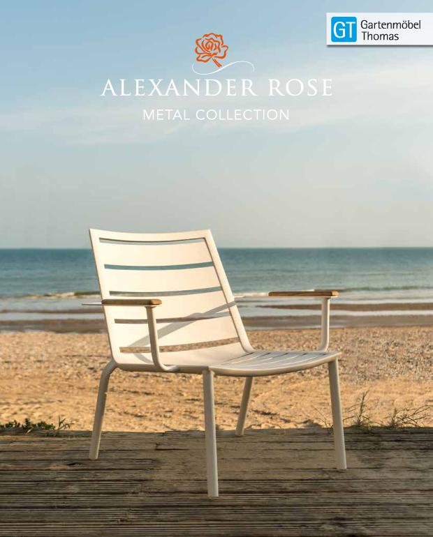 Abbildung Alexander Rose Metall Katalog