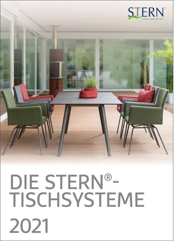 Abbildung Stern Tischsysteme - Hauptkatalog