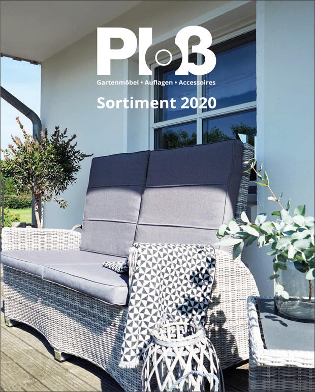 Abbildung Produkübersicht Ploß Gartenmöbel 2020