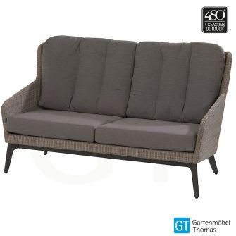 4Seasons LUXOR Lounge 2,5-Sitzer Sofa Geflecht Braun - Gest