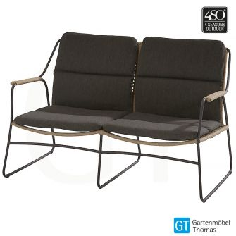 4Seasons SCANDIC Lounge 2-Sitzer Sofa Edelstahl - Bespannun