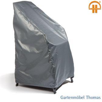 gartenm bel thomas schutzh lle stapelsessel 66x65x65 105cm farbe grau atmungsaktiv hier. Black Bedroom Furniture Sets. Home Design Ideas