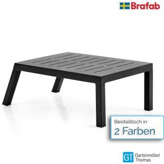 Brafab BELFORT Beistelltisch 84x50x30cm - Gestell Alu