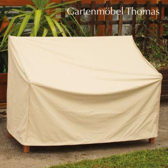gartenm bel thomas abdeckhaube schutzh lle gartenbank premium beige 130cm atmungsaktiv hier. Black Bedroom Furniture Sets. Home Design Ideas