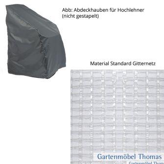 Schutzhülle Standard Hochlehner 65x60x55/105cm Gitterfolie