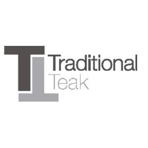 Traditional Teak KATE Relaxstuhl Teak Textilene Taupe