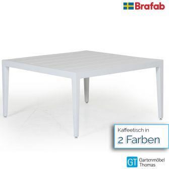 Brafab MACKENZIE Loungetisch 77x77cm - Aluminium