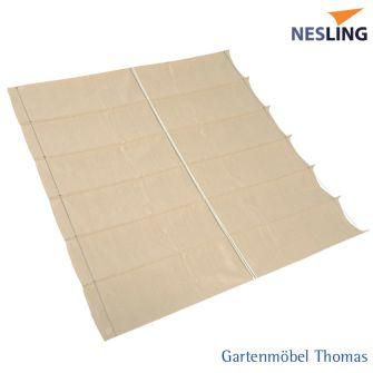 Nesling Faltsonnensegel COOLFIT 370x370 cm Farbe Sand