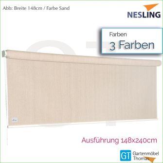 Nesling Sonnenrollo COOLFIT 148x240 cm