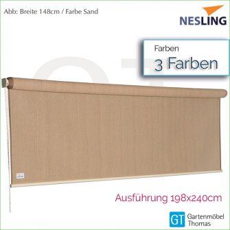 Nesling Sonnenrollo COOLFIT 198x240 cm