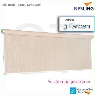 Nesling Sonnenrollo COOLFIT 98x240 cm