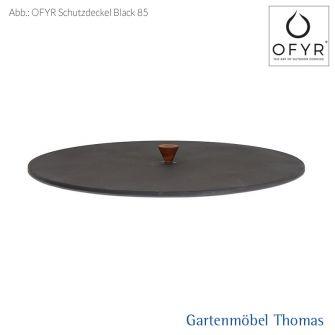 OFYR Schutzdeckel Black 85 cm mit Holzgriff