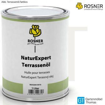 ROSNER NaturExpert Terassenöl - Farbe farblos Teakholzöl