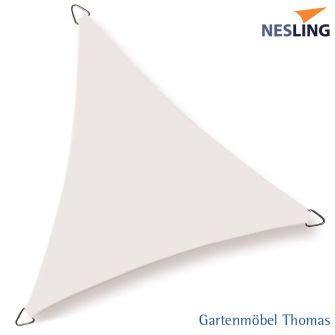 Nesling Sonnensegel COOLFIT Dreieck 500x500x500 cm Farbe Off White