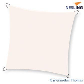 Nesling Sonnensegel DREAMSAIL Quadrat 4x4m Farbe Creme