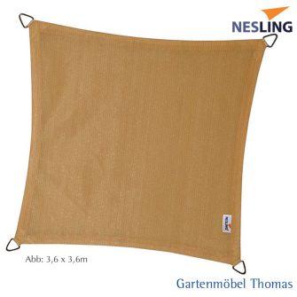 Nesling Sonnensegel DREAMSAIL Quadrat 500x500 cm Farbe Creme
