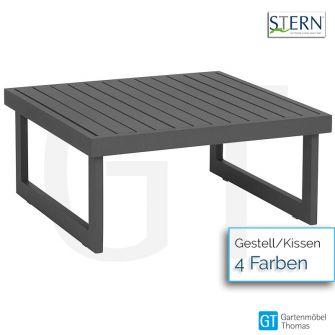 Stern NEW HOLLY Beistelltisch/Hocker 72x72cm - Aluminium -