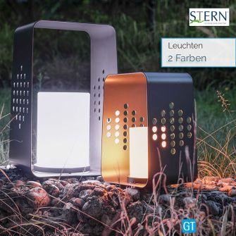 Stern LEUCHTE 28x26cm - Aluminium - LED-Einsatz