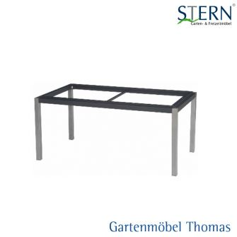gartenm bel thomas stern tischgestell 200x100 alu graphit anthrazit vierkantrohr hier. Black Bedroom Furniture Sets. Home Design Ideas
