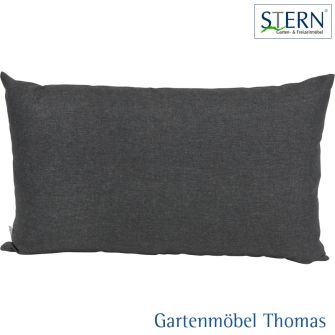 Stern HOLLY Rückenkissen - 100% Polyester dunkelgrau
