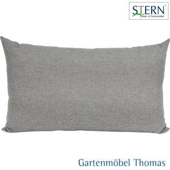 Stern HOLLY Rückenkissen - 100% Polyester grau meliert