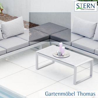 Stern HOLLY Sitzkissen zu Beistelltisch - 100% Polyester Farbe Grau meliert