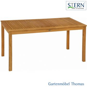 Stern MALAGA Tisch 160x90cm - Teakholz FSC