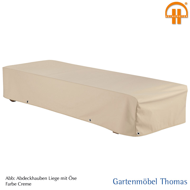 Gartenmöbel Thomas | Schutzhülle Liege 210x70x35cm Farbe Creme ...