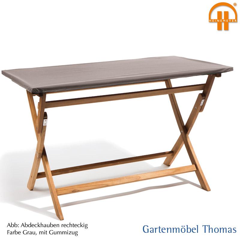Abdeckung Gartentisch 200x100.Schutzhülle Premium Tischplatte 200x100cm Farbe Grau Atmungsaktiv Mit Gummizug