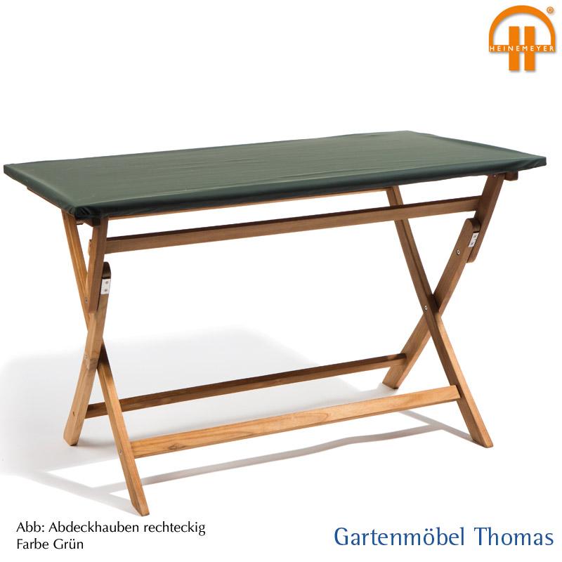 Abdeckhaube Tisch 180x90cm Farbe Grun Atmungsaktiv Mit Osen Saum
