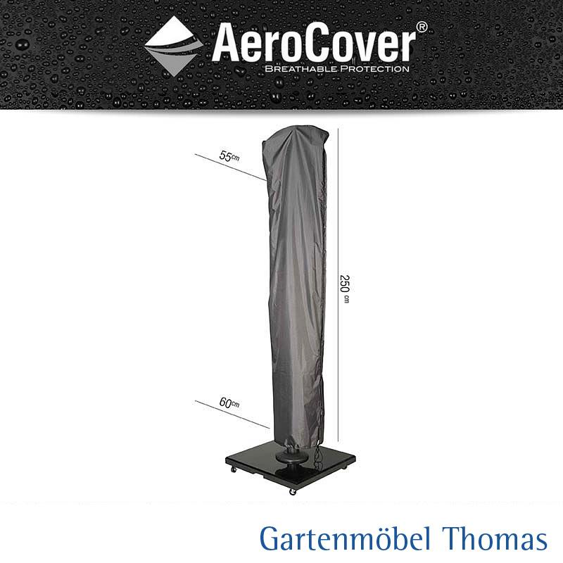 gartenm bel thomas aerocover 7970 schutzh lle abdeckhaube ampelschirm h 250x55 60 350cm. Black Bedroom Furniture Sets. Home Design Ideas