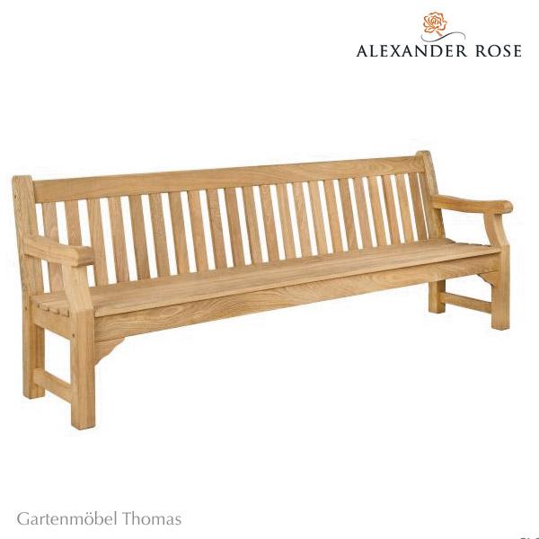 gartenm bel thomas alexander rose royal park bank 240cm. Black Bedroom Furniture Sets. Home Design Ideas