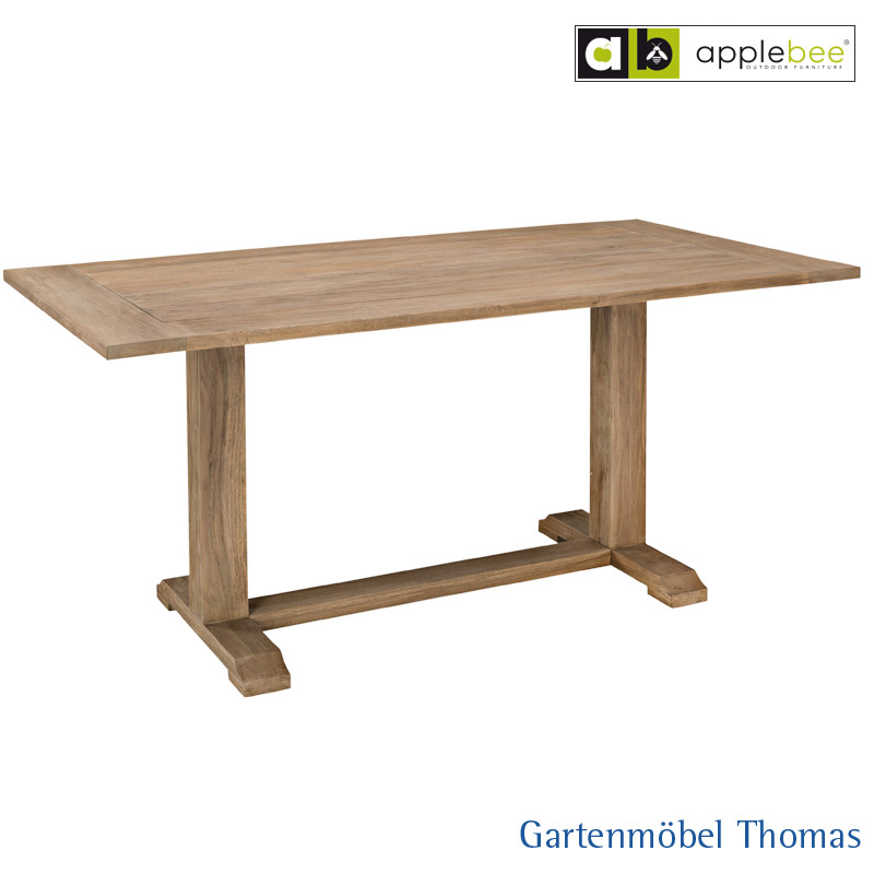 Gartenmöbel Thomas | Apple Bee BRIDGE Tisch Teakholz 170x90cm Antik ...