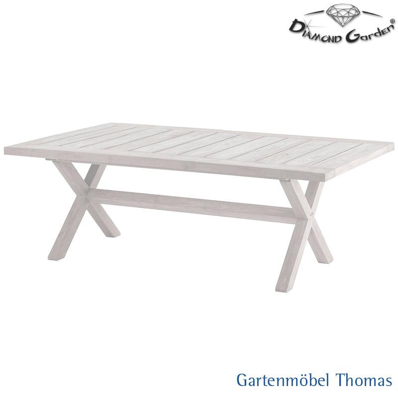 Gartenmöbel Thomas | Diamond Garden BOULOGNE Dining-Tisch / Teak ...