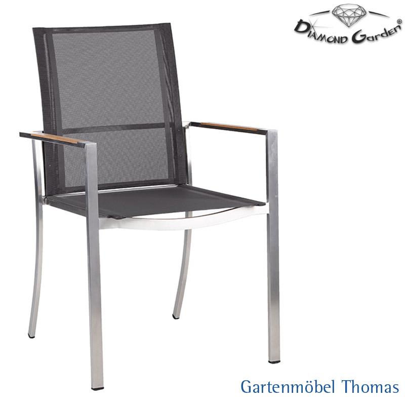 Gartenmöbel Thomas | Diamond Garden FLORENZ Sessel Edelstahl ...