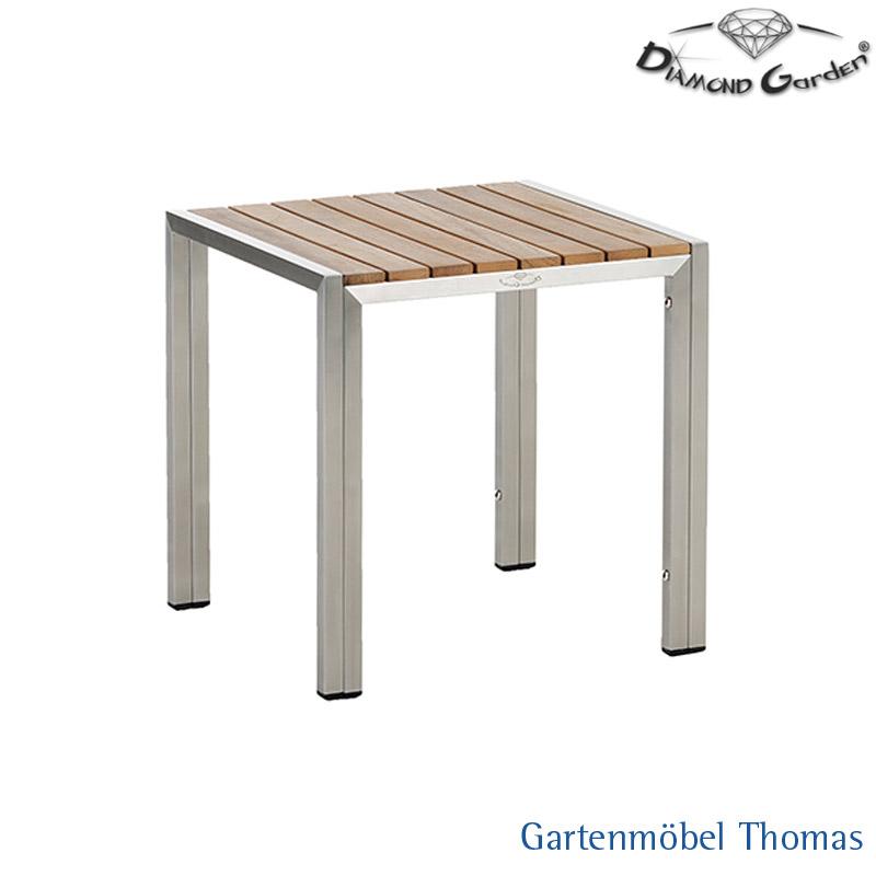 Gartenmöbel Thomas | Diamond Garden MALAGA Edelstahl Beistelltisch ...