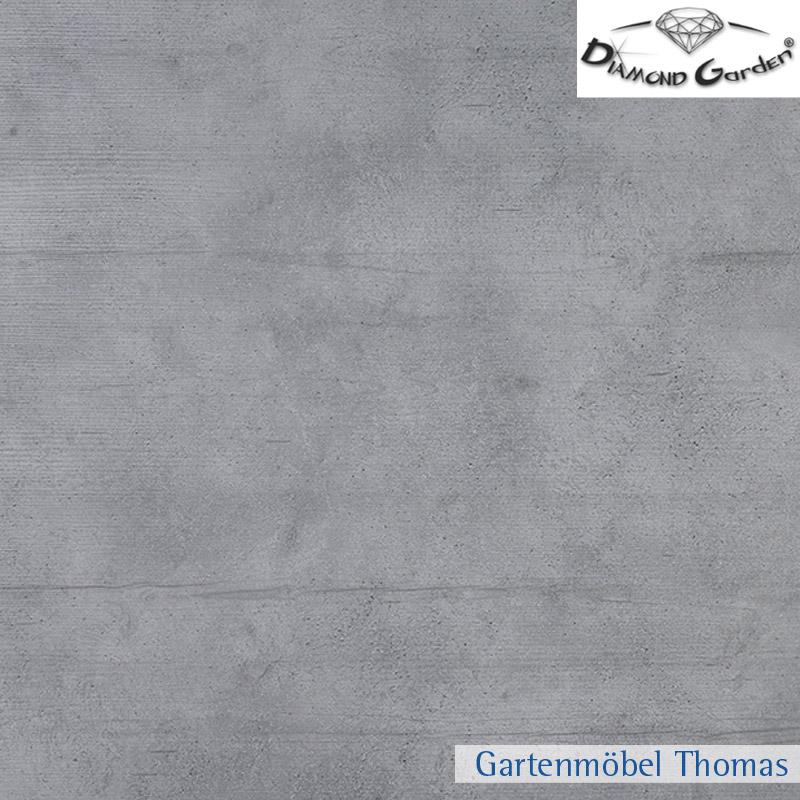 diamond garden san marino tischplatte hpl rund 120cm schalbrett beton online kaufen. Black Bedroom Furniture Sets. Home Design Ideas