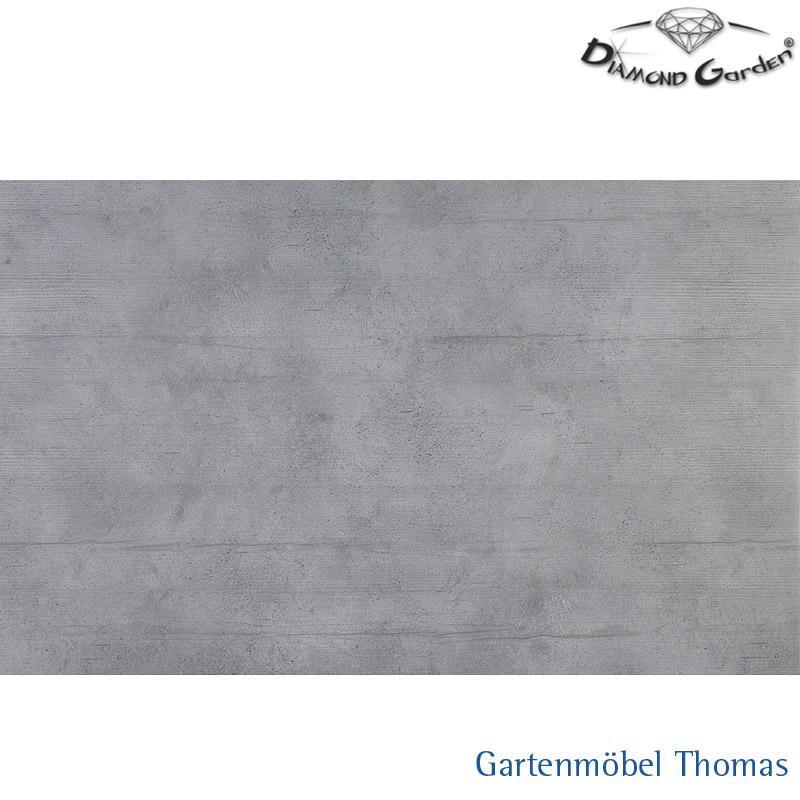 Hervorragend Diamond Garden NEAPEL Tischplatte HPL-Platte 230-310 Beton KH05