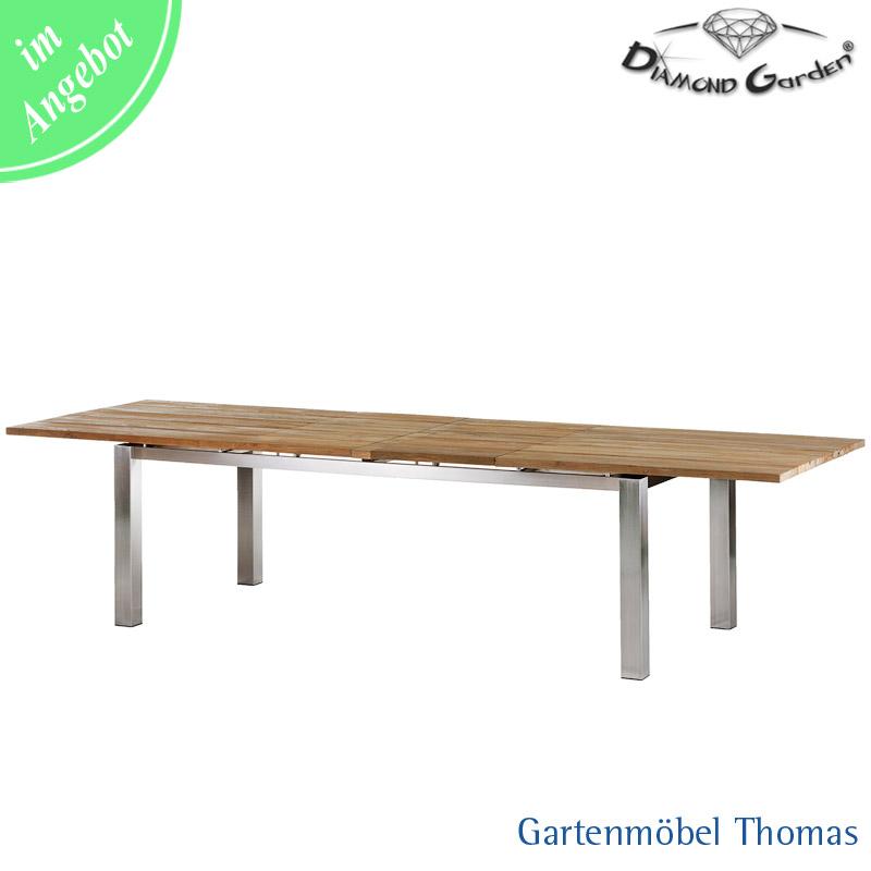 Gartenmöbel Thomas | Diamond Garden SALERNO Ausziehtisch 220/320 ...