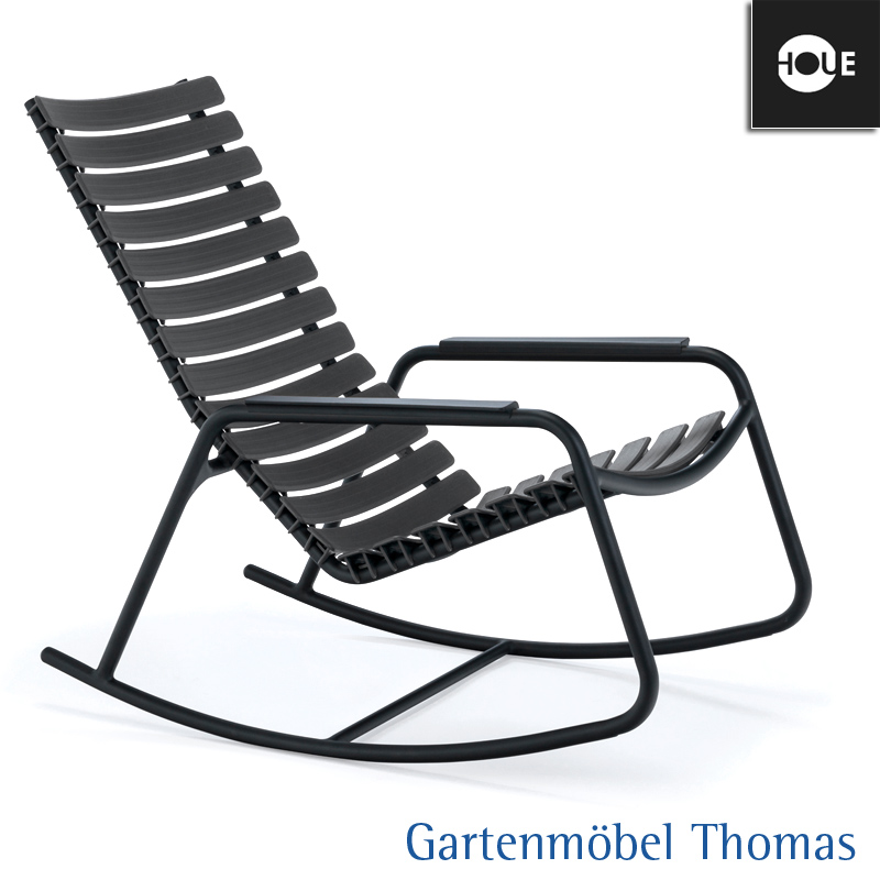 Gartenmöbel Thomas   HOUE Clips Schaukelstuhl Farbe Grau (Lehmgrau ...