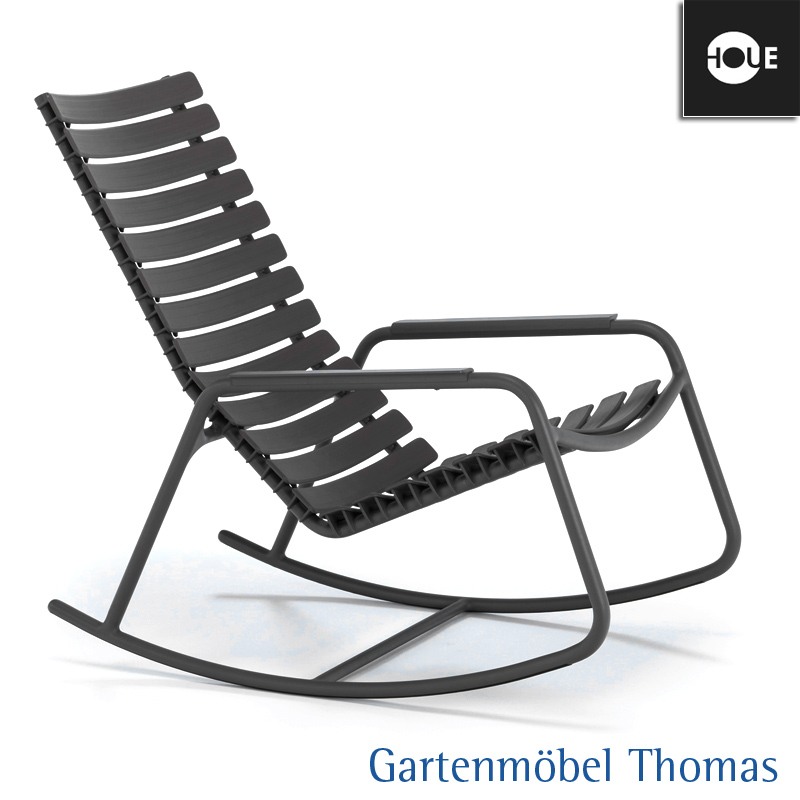 Gartenmöbel Thomas | HOUE Clips Schaukelstuhl Farbe Grau (Lehmgrau ...