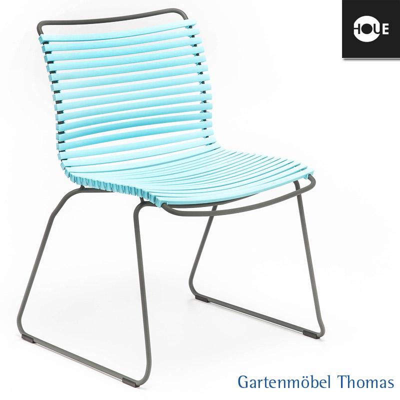 gartenm bel thomas houe click stuhl mint gestell metall graphit dining no armrest hier. Black Bedroom Furniture Sets. Home Design Ideas