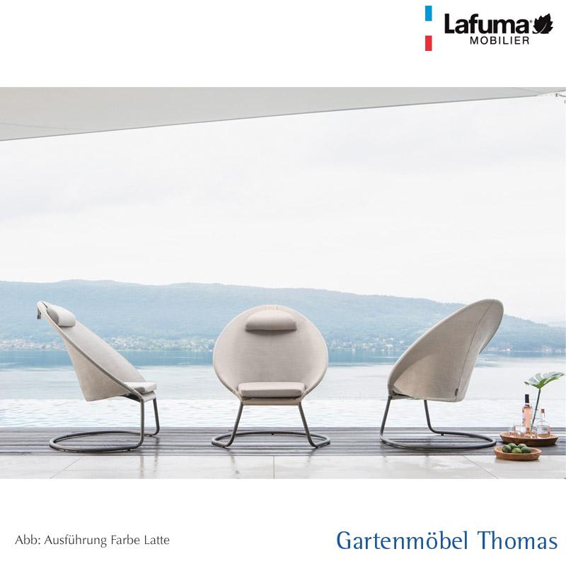 Gartenmöbel Thomas | Lafuma COCOON Relaxsessel Alu-Titan / Bezug ...