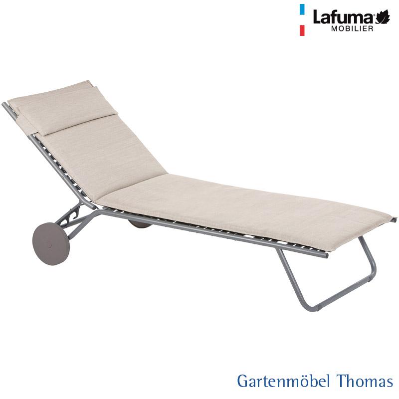 Gartenmöbel Thomas | Lafuma MIAMI Rollliege Alu Titan / Bezug ...