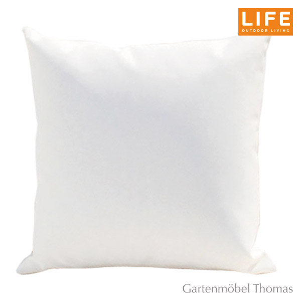 gartenm bel thomas life dekokissen aw farbe weiss 55x55cm hier online kaufen. Black Bedroom Furniture Sets. Home Design Ideas