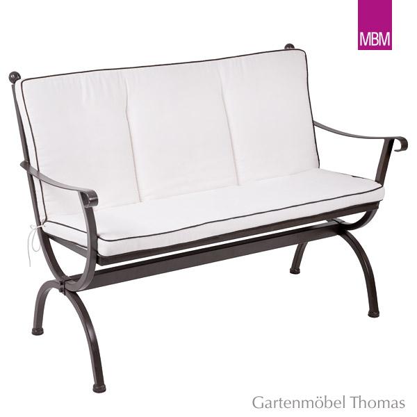 Gartenmöbel Thomas | MBM ROMEO Bankkissen 2-Sitzer Uni Natur | hier ...